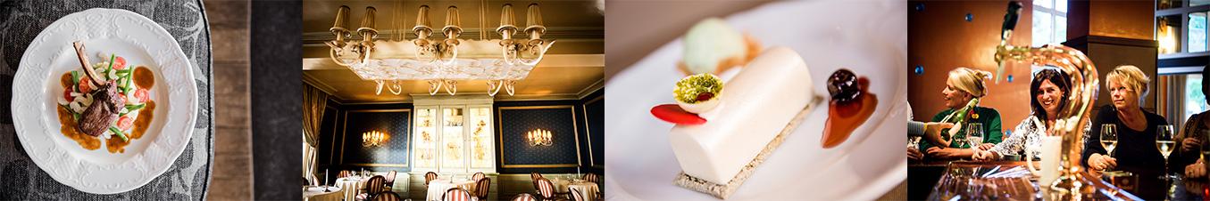 Diverse gerechten van Hotel Voncken